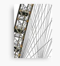 MILLENIUM WHEEL (LONDON, ENGLAND) Metal Print