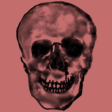 smokey skull by TheBoyTeacher