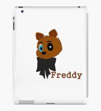 Freddy tekst iPad Case/Skin
