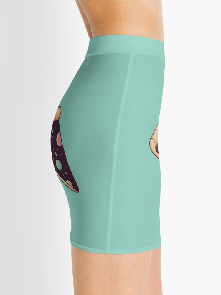 Alternate view of Galactic Deliciousness Mini Skirt