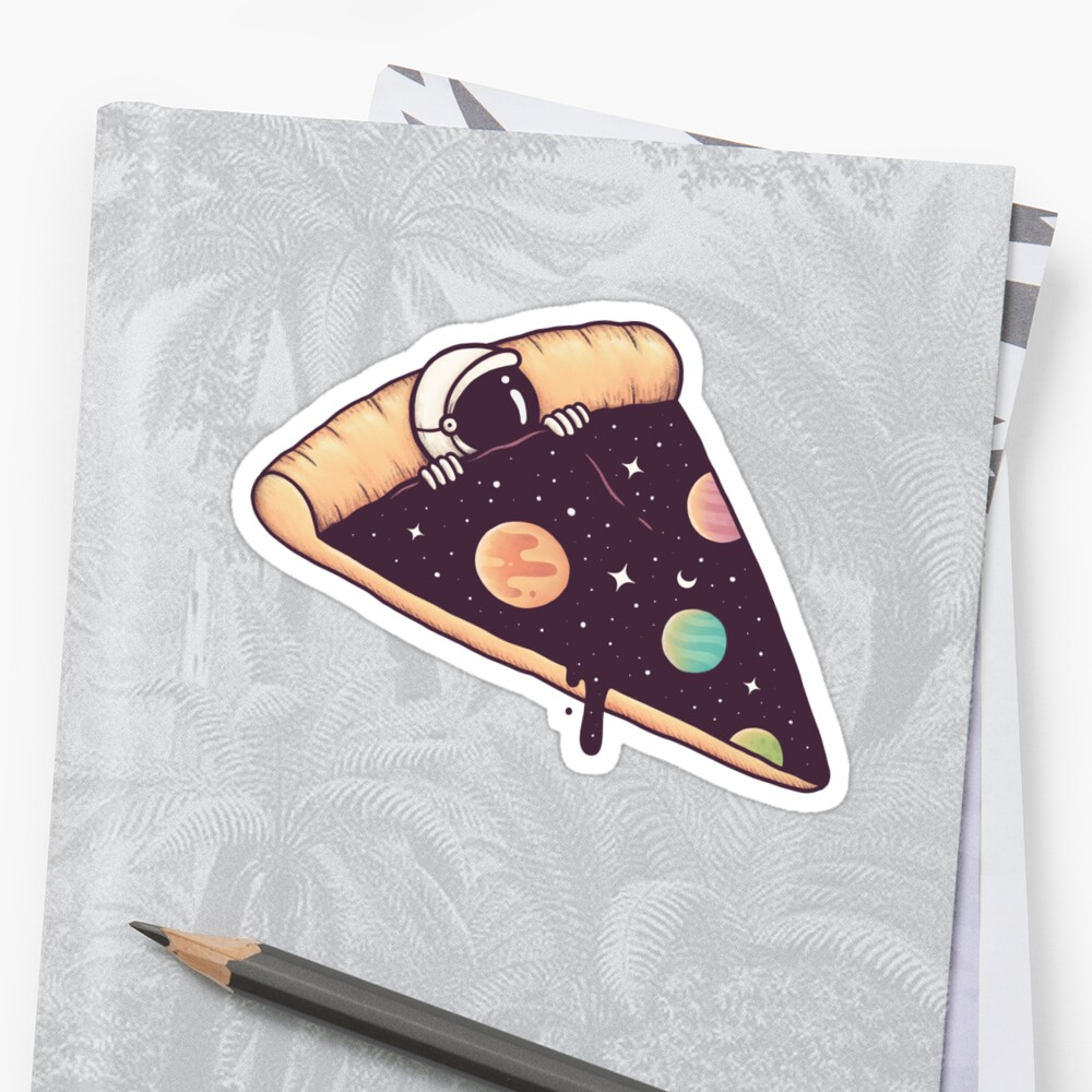 Galactic Deliciousness Sticker