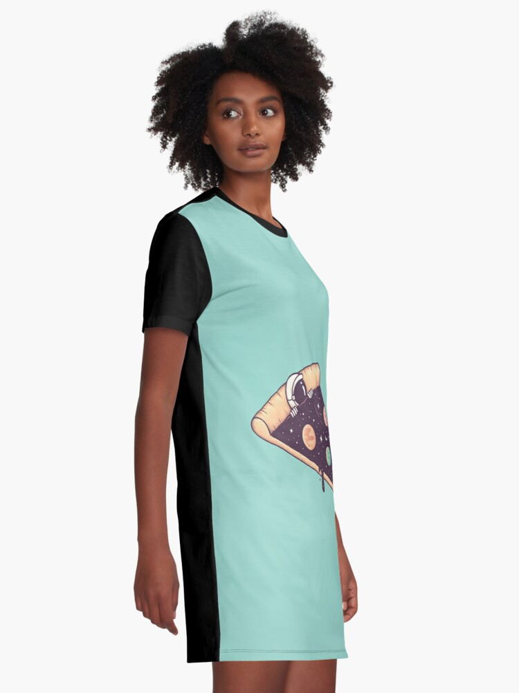 Alternate view of Galactic Deliciousness Graphic T-Shirt Dress