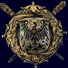 Prussian Eagle Court Badge by edsimoneit