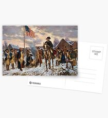 Postales Washington en Valley Forge