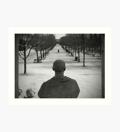 Jardin des Tuileries, Paris Art Print