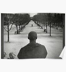 Jardin des Tuileries, Paris Poster