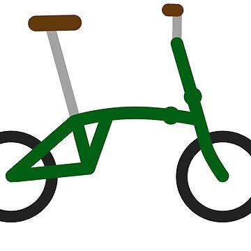 Folding bike by xgradoux
