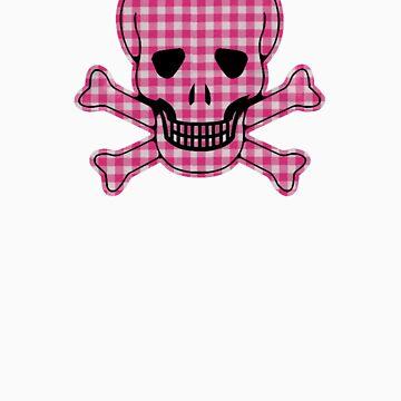 Gingham Skull by TeeArt