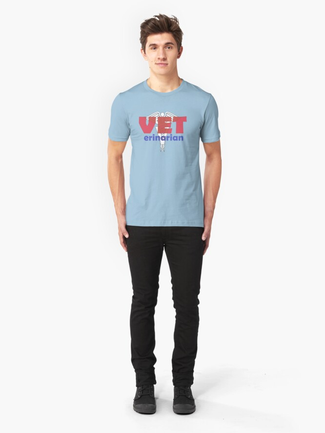 Alternate view of VETerinarian T-shirt Slim Fit T-Shirt