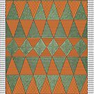 Triangle pattern by Kanika Mathur  Design