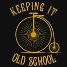 «Keeping it Old school bike retro vintage» de diegogdrc