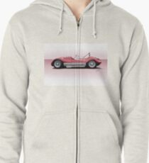 1960 Witton Special Racecar Zipped Hoodie
