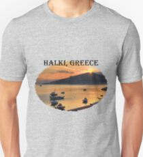 Halki Sunrise (version 1) Unisex T-Shirt