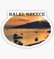Halki Sunrise (version 1) Sticker