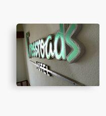 crossroads motel Metal Print