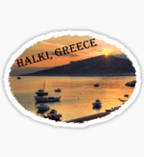 Halki Sunrise (version 2) Sticker