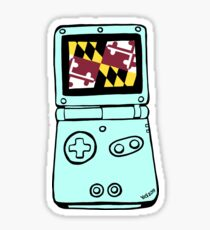Marylandtendo Gaitherboy Advance SP Sticker