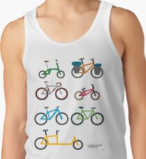UNITED COLORS OF BICYCLES. Tank Top