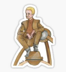 Happy Odo Sticker