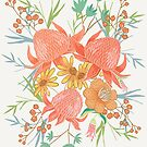 Australian Florals by latheandquill