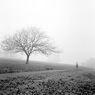 Fog at Ruffey Lake Park by Roberts Birze