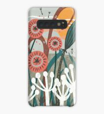Meadow Breeze Floral Illustration Case/Skin for Samsung Galaxy