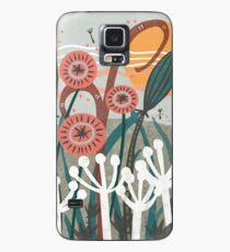 Funda/vinilo para Samsung Galaxy Ilustración floral de la brisa del prado