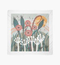 Meadow Breeze Floral Illustration Scarf