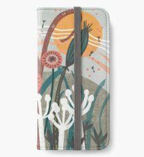 Meadow Breeze Floral Illustration iPhone Wallet/Case/Skin
