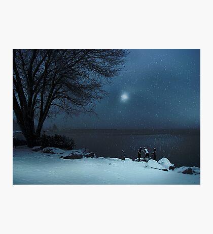 Moonlight Romp Photographic Print
