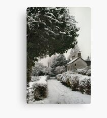 So Quiet Canvas Print