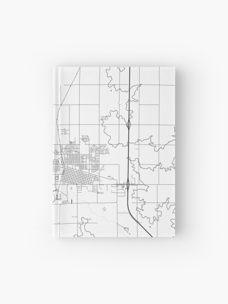 Watertown map poster print wall art, South Dakota gift printable, Home and  Nursery, Modern map decor for office, Map Art, Map Gifts   Hardcover ...
