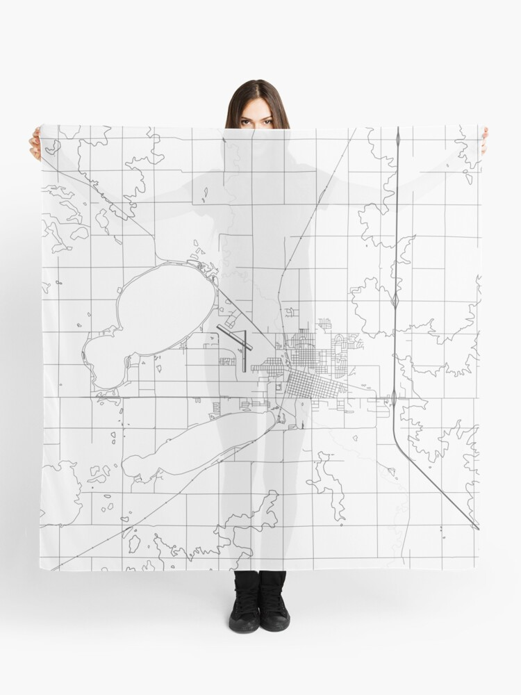Watertown map poster print wall art, South Dakota gift printable, Home and  Nursery, Modern map decor for office, Map Art, Map Gifts   Scarf