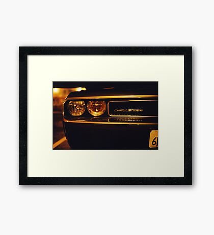 ...and the keys for a sawed off weekend.. Framed Print