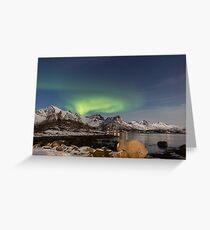 Lofoten Aurora Greeting Card