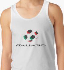 Retro Weltmeisterschaft Italia 90 Tanktop für Männer