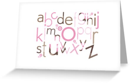 TYPOGRAPHY :: trendy alphabet 3 by Kat Massard