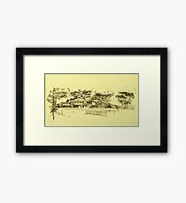 Community Center Framed Print