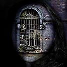 Swallowed By Her Surroundings by Elizabeth Burton