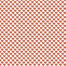 Grunge hearts. Valentine illustration. by starchim01