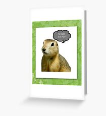 To Cute for Pics!!! Greeting Card