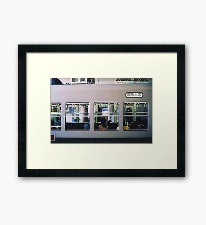5:19 to Crewe Framed Print