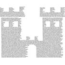 Castle of Text by Tomás Antunes