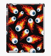 Flaming Eyeball Pattern iPad Case/Skin