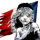 "Banksy - ""France Cry"" von streetartfans"