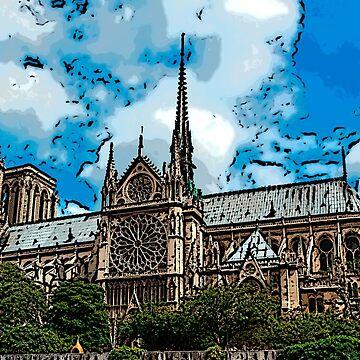 Notre Dame bywhacky by bywhacky