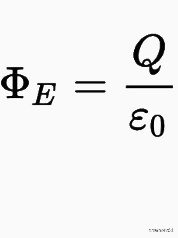 In physics, Gauss's law by znamenski