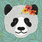 «PANDA TROPICAL» de artlovepassion