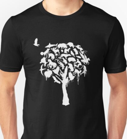 Tree House (White Print) T-Shirt