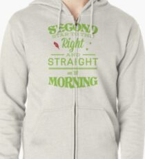 Peter Pan Neverland  - Second Star Zipped Hoodie